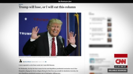 Reporter eats his own words on Trump_00010517