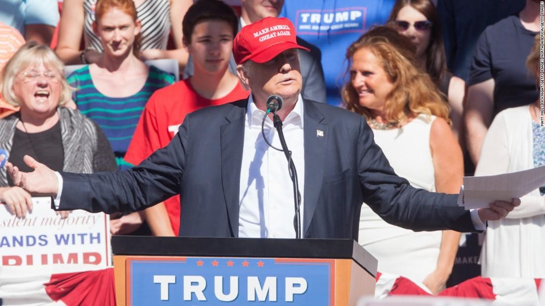 Donald Trump: U.S. will never default 'because you print the money' -  CNNPolitics