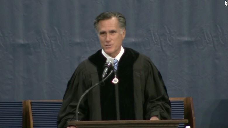 Romney commencement speech Trine demagogues sot_00000219