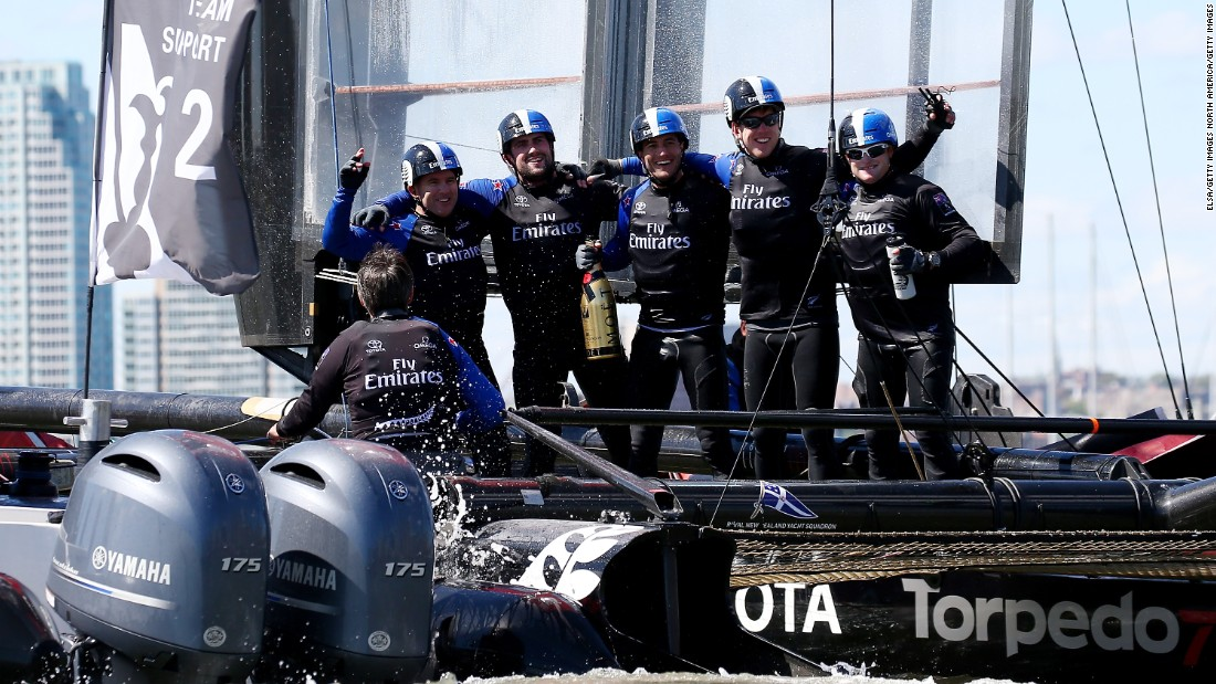 But it would be Emirates Team New Zealand that would win in New York and retain its overall lead in the America's Cup standings.