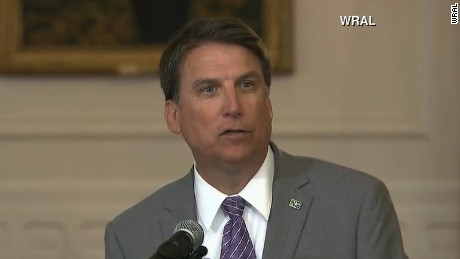 Gov. Pat McCrory defends North Carolina's bathroom law