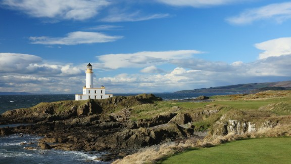 Turnberry: Now best known for being owned by US President Donald Trump, Turnberry on Scotland