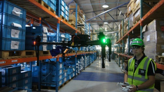 South African start-up Drone Scan aims to make warehouse workers