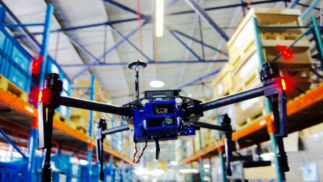 These Drones Could Replace Warehouse Workers Cnn