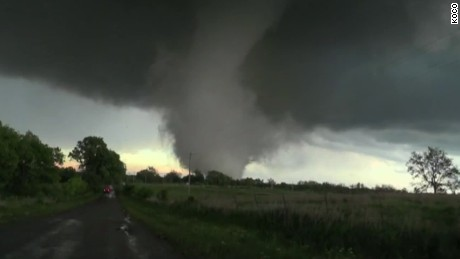 Massive Tornado In Oklahoma Caught On Camera Cnn Video