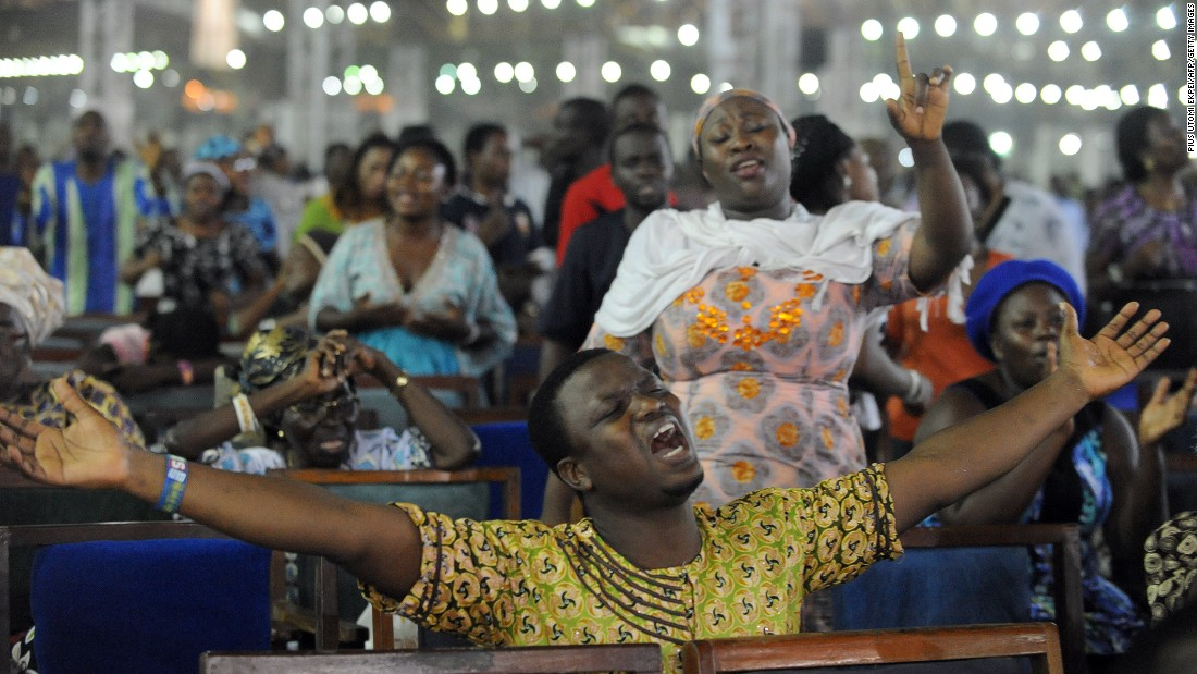Image result for pictures of Nigerian congregations