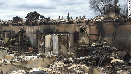 Inside fire-ravaged Fort McMurray
