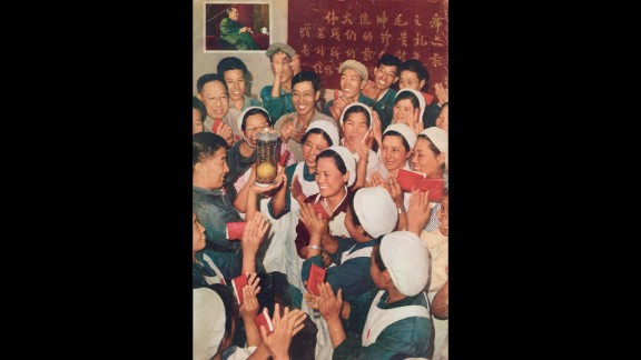 Mao's golden mangoes: The mango became an unlikely object of worship during the turmoil of the Cultural Revolution, which began 50 years ago this month.  The exotic fruit adorned propaganda posters and everyday objects.