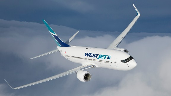 Canadian-based WestJet came in third place in J.D. Power's rankings of low-cost carriers.
