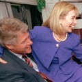 Bill Hillary Clinton Al Tipper Gore 1992