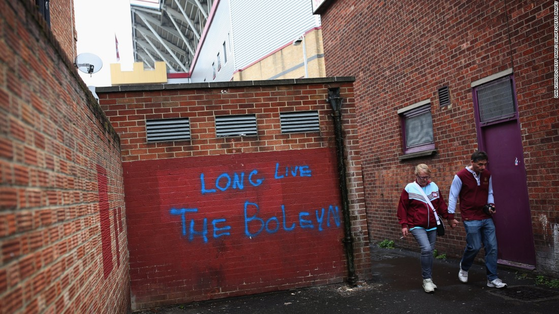 The Boleyn Ground will be developed into 800 new homes.