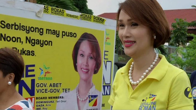 Philippines elects transgender woman to Congress