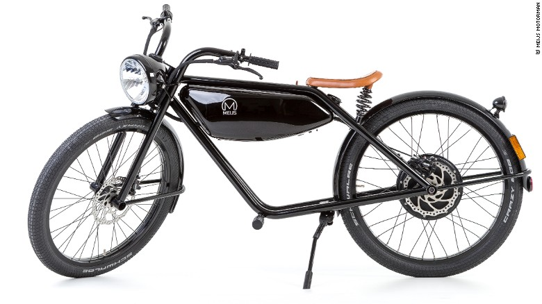 The MEIJS Motormanu0026#39;s Battery Fits Neatly Where The Gas Tank Would Sit
