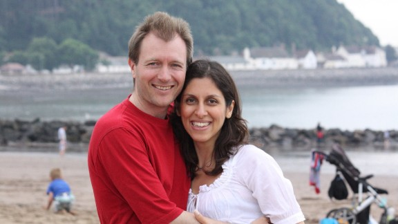 Richard Ratcliffe and Nazanin Zaghari-Ratcliffe.