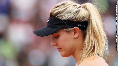 Eugenie Bouchard was tipped as one of tennis' brightest prospects after a breakout 2014.
