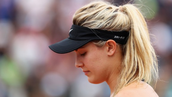 Eugenie Bouchard was abused online after a slump in form.