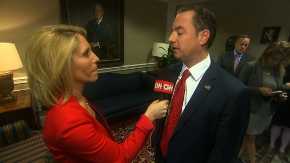 Reince Priebus talks to CNN