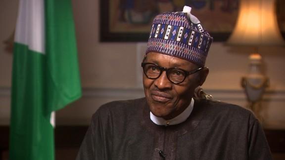 Nigerian President Muhammadu Buhari spoke to President Trump from London.