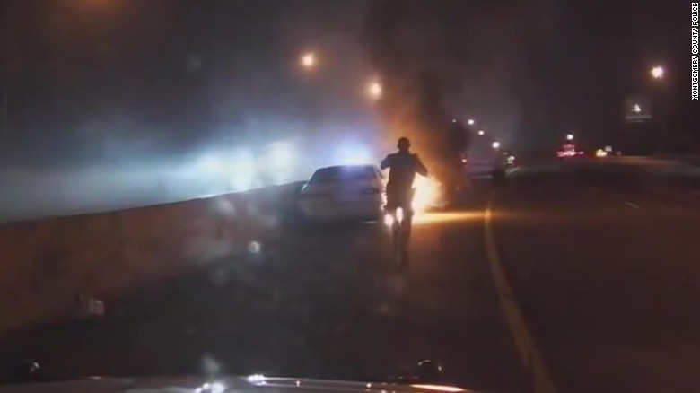 Beyond the Call Car Fire Rescue pkg_00000727