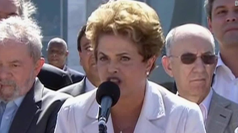 Dilma Rousseff: 'I'm the victim of a great injustice'