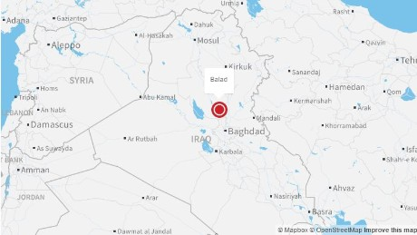 At least 20 people were killed Friday in Balad, Iraq, in shootings and bombings claimed by ISIS.