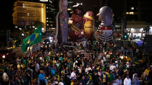 """The decision to impeach Rousseff came after about 20 hours of debate in the Senate. She's been suspended for 180 days, and while she'll retain the title of President, she won't perform any of the duties of the office. <a href=""""http://www.cnn.com/2016/05/12/world/gallery/rousseff-keeps-loses/index.html"""">Rousseff: What she keeps, what she loses</a>"""