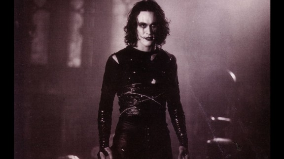 """Brandon Lee, the son of actor and martial arts legend Bruce Lee, starred in the 1994 movie """"The Crow."""" He died in an on-set accident during the filming of the movie."""