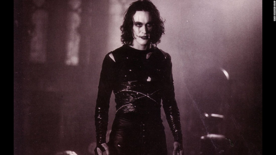 "Brandon Lee, the son of actor and martial arts legend Bruce Lee, starred in the 1994 movie ""The Crow."" He died in an on-set accident during the filming of the movie."