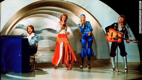 "Sweden's Abba won Eurovision 1974 with their worldwide hit ""Waterloo."""