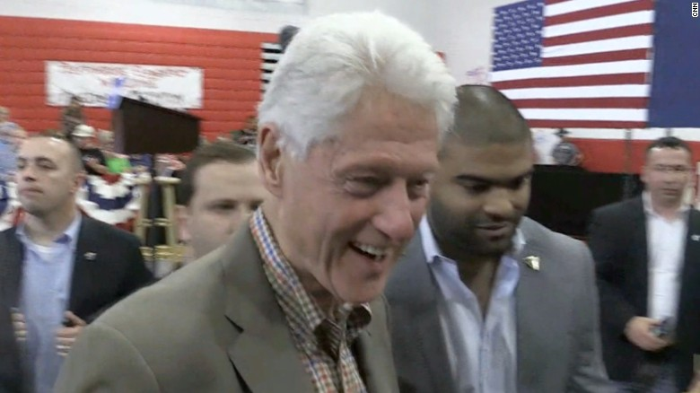 Bill Clinton denies foundation broke laws