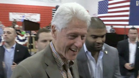 Bill Clinton deflects Donald Trump's accusation
