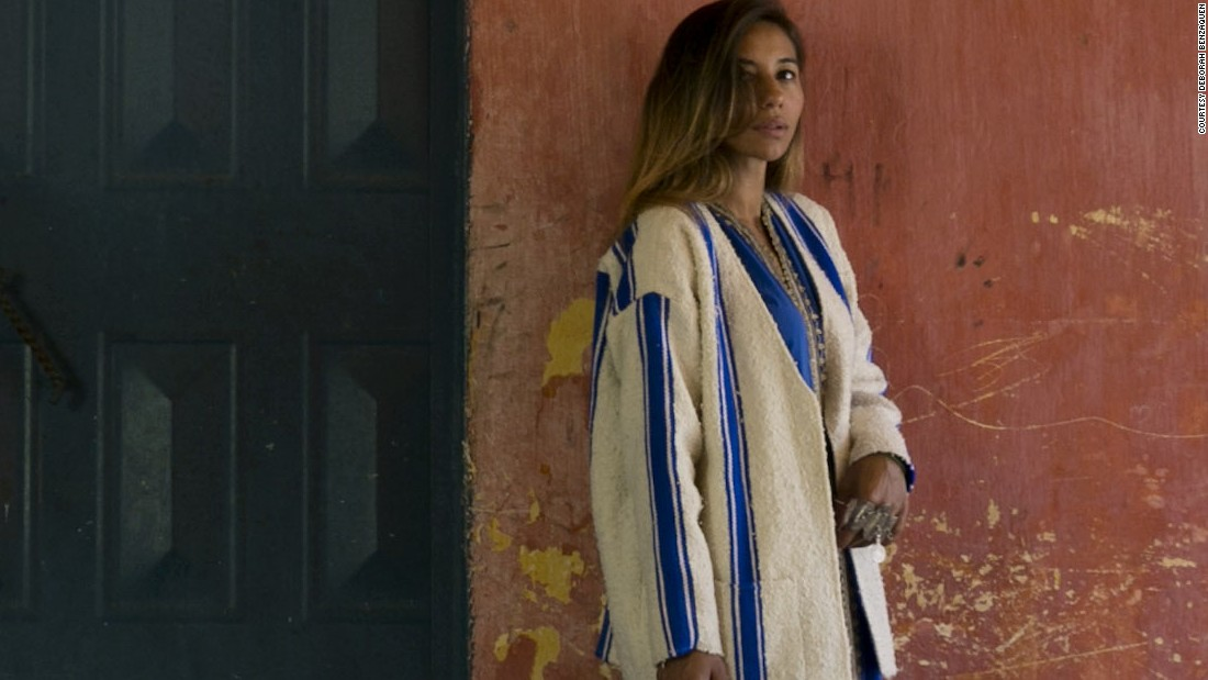 What makes African street style? These designers and stylists are pushing boundaries with their colorful street wear. <br />Pictured: Casablanca, Morocco - Sofia El Arabi, designer for label Bakchic.