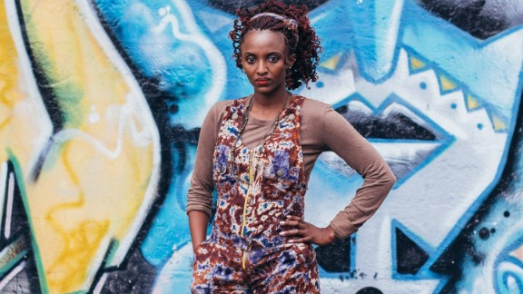 Mitumba is a Swahili word for secondhand clothing. Secondhand clothes shopping is a key part of Nairobi