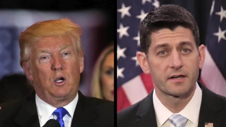 Will Trump and Ryan see eye-to-eye?