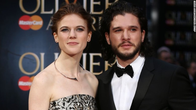 'Game of Thrones' stars are engaged