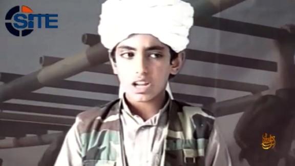 Hamza Bin Laden, Osama Bin Laden's son.