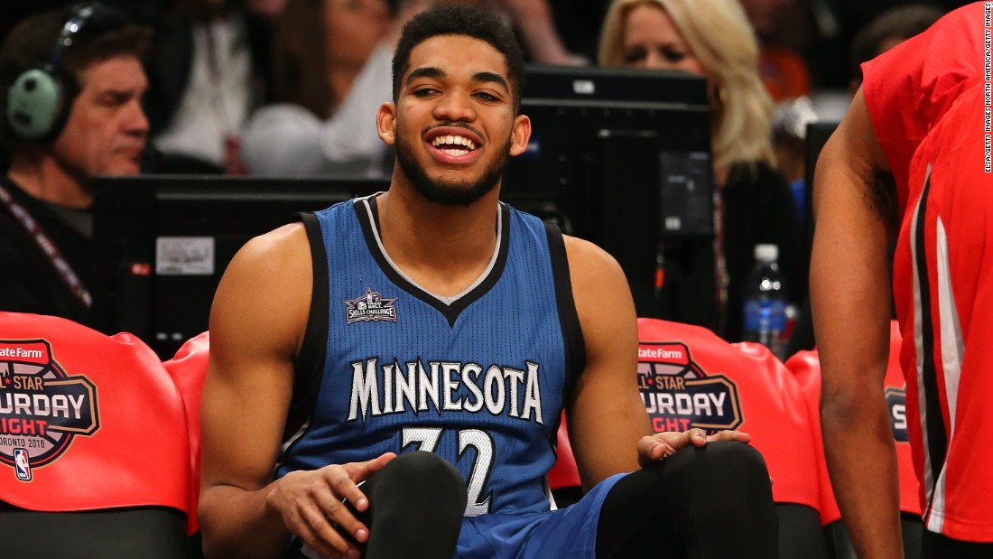 After a stellar first season, Karl-Anthony Towns of the Minnesota Timberwolves was voted the 2016 NBA Rookie of the Year. Towns first decision as a pro was to figure out what to wear for the rookie draft...a process which took precise cross-continental planning.