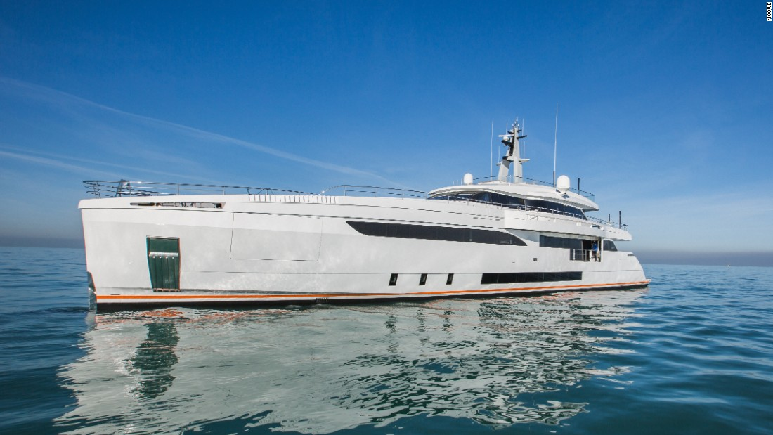 "Launched in 2015, the 46m Genesi was the first superyacht by Italian builder Wider -- judges called it ""the epitome of a modern yacht."""