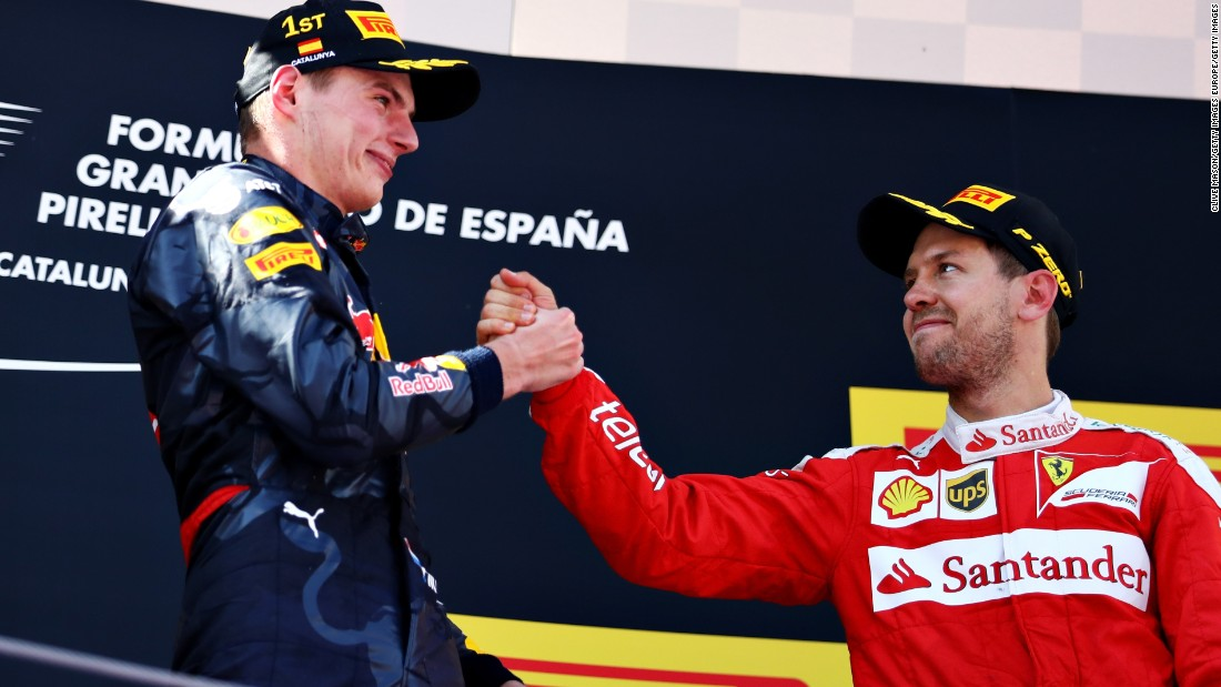 The 18-year-old eclipsed Sebastian Vettel, who finished third in Spain last season, as the youngest-ever driver to win an F1 race.