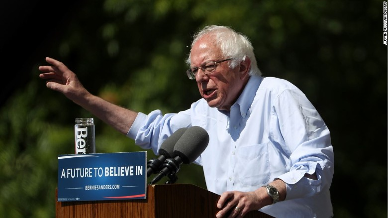 Sanders bashes Dem brass: 'Let the people in'