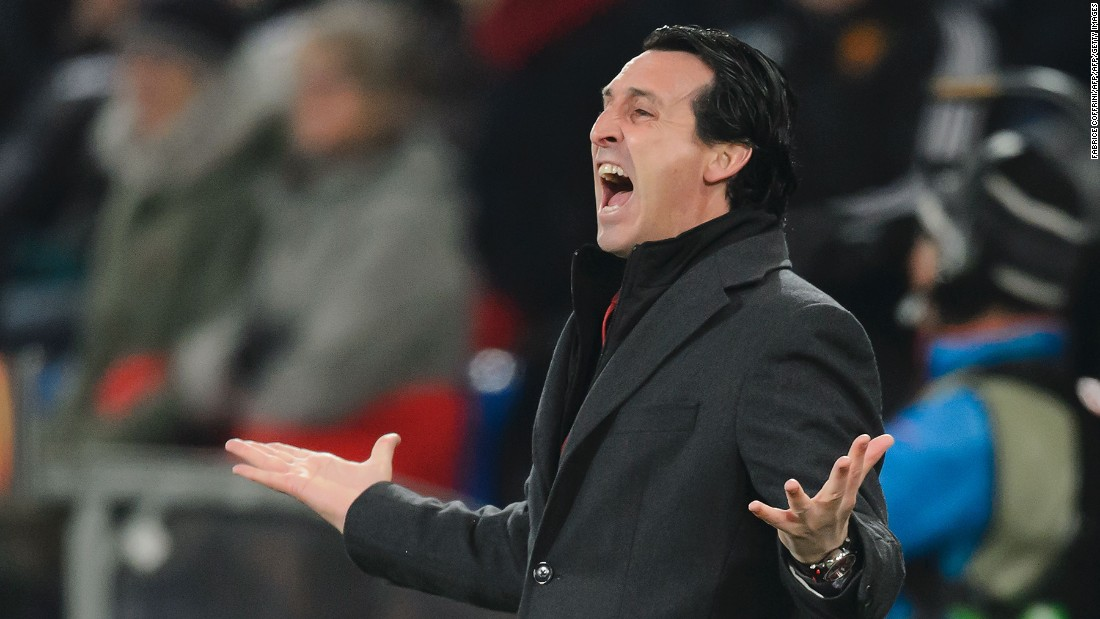 <strong>History in the making:</strong> Sevilla's coach Unai Emery is looking to make history by winning the Europa League final three years in a row.