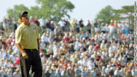 Winged Foot '06 will go down as arguably Mickelson's biggest U.S. Open miss.
