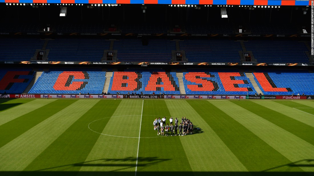 <strong>Venue:</strong> The 38,512-capacity St Jakob-Park in Basel, Switzerland, will host the Europa League final.