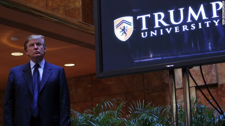 New motion in Trump University case
