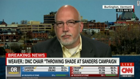 Sanders campaign manager criticizes Democratic party chair