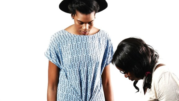 Clothing brand Loin Cloth & Ashes. Anisa Mpungwe