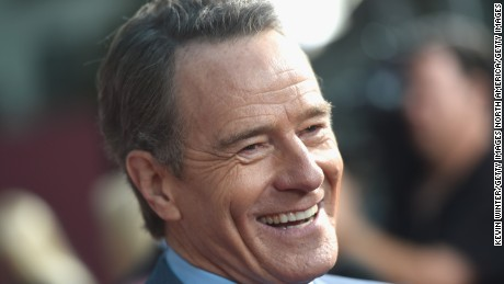 Better call... a moving company for Bryan Cranston if Trump wins.
