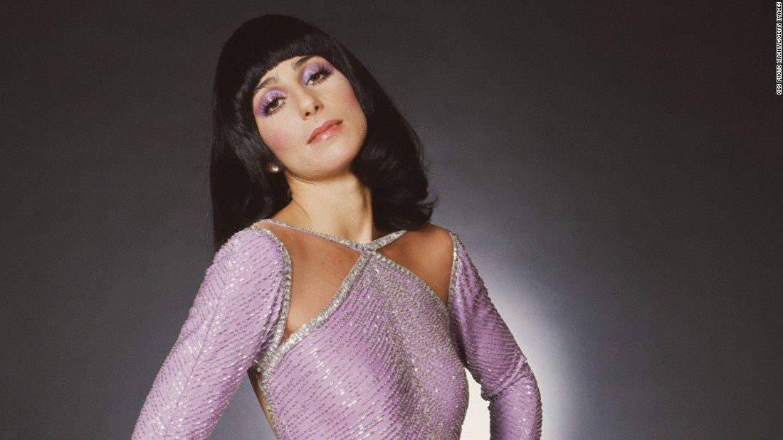 "Cher takes a promotional photo for ""The Sonny and Cher Comedy Hour"" in 1972. See more photos of the iconic singer and actress, who turns 70 years old on Friday, May 20."