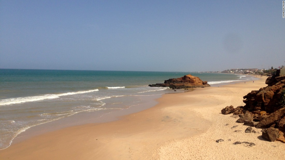 The bohemian village of Toubab Dialaw, just an hour south of Dakar, has a pristine beach and a lively arts scene.