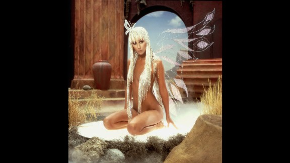 "Cher poses for the cover of her album ""Prisoner"" in 1979."